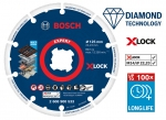 BOSCH Diamond Metal Wheel gyémánt darabolótárcsa (125mm; X-Lock)